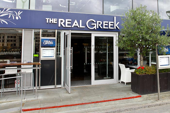 The Real Greek group rolls out eighth site - Foodservice