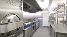 Nelson Catering Equipment kitchen