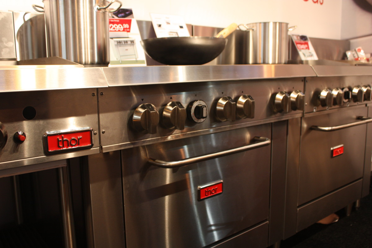 Thor Targets Growth With Gas Cooking Appliances