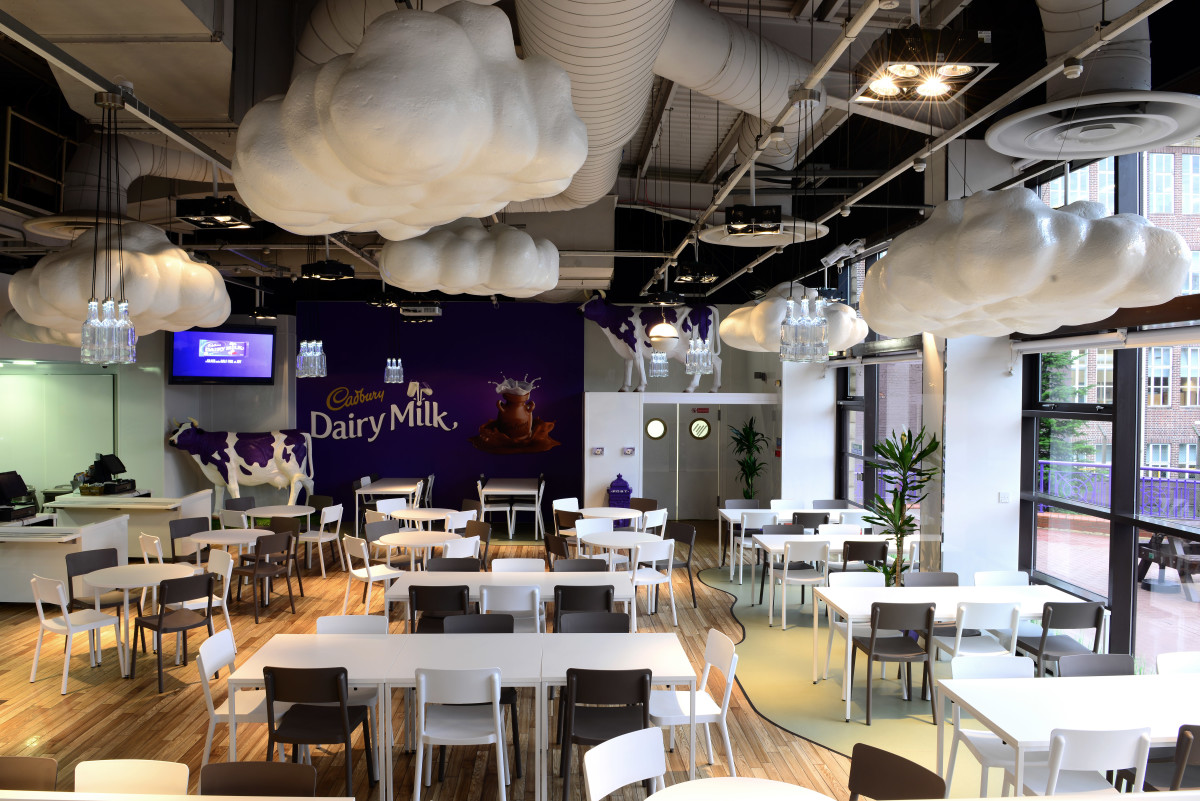 Cadbury World cafe