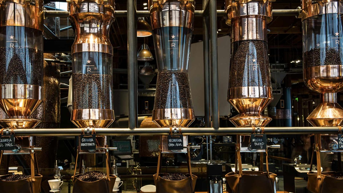 The Starbucks Reserve Roastery and Tasting Room