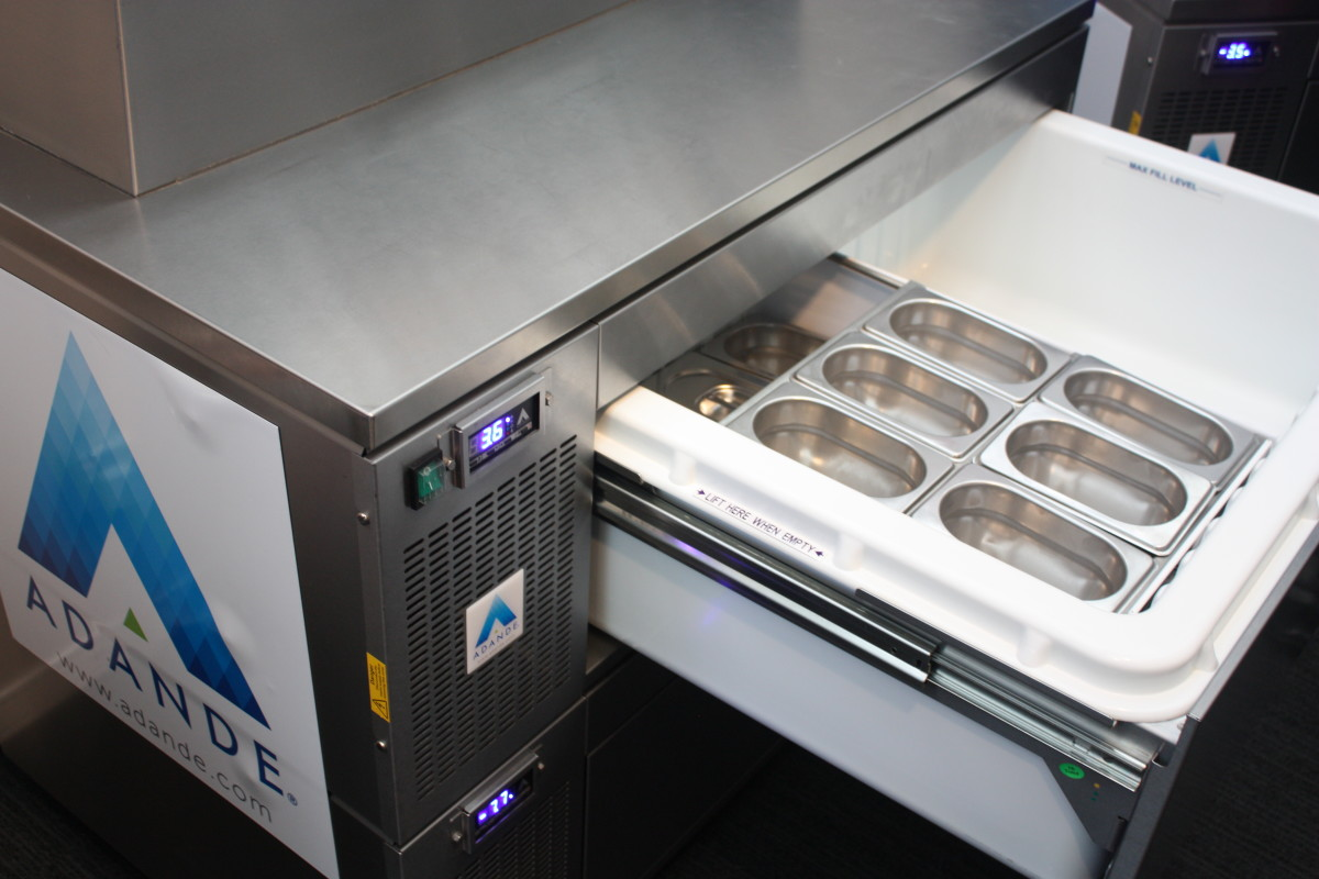 Adande drawer at Casual Dining
