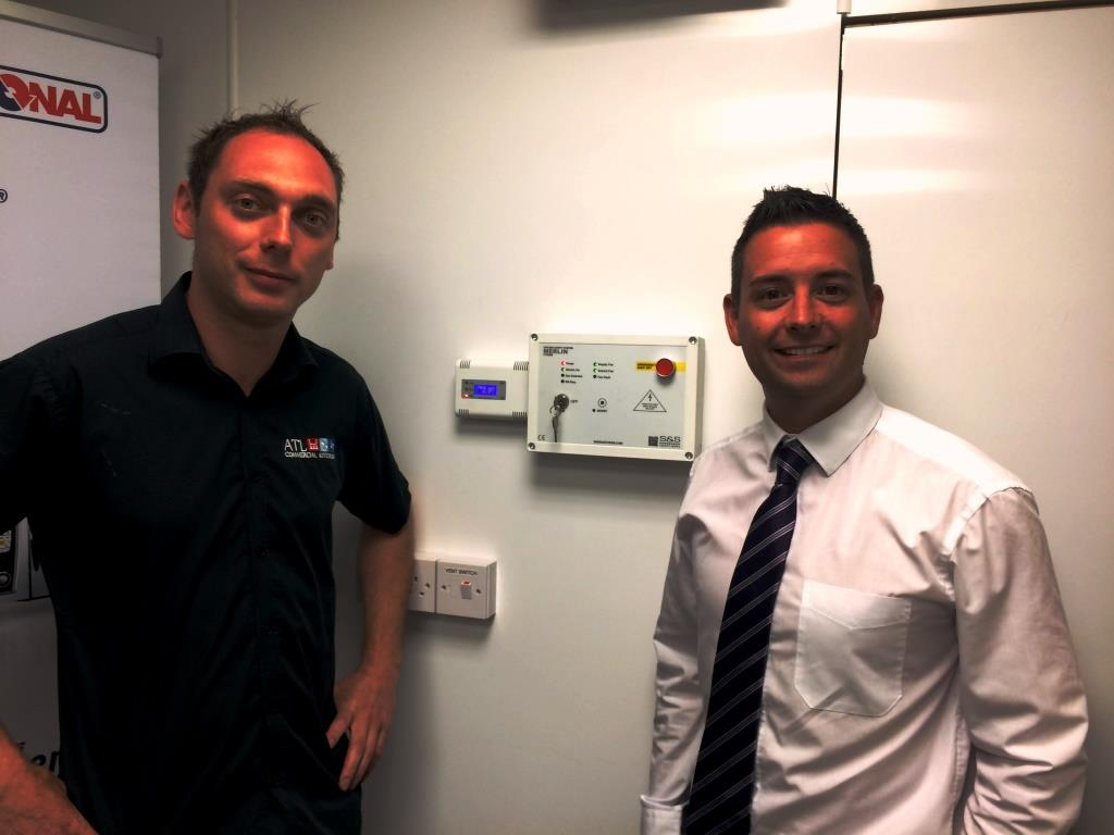 Ashley Stephenson and Lee Dempsey at ATL Commercial Kitchens