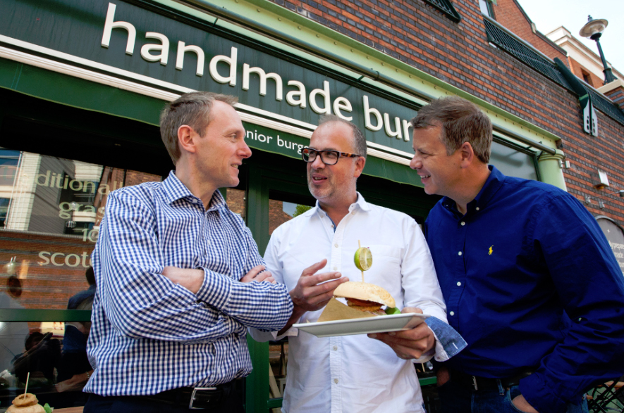 Handmade Burger Company Birmingham Finance investment