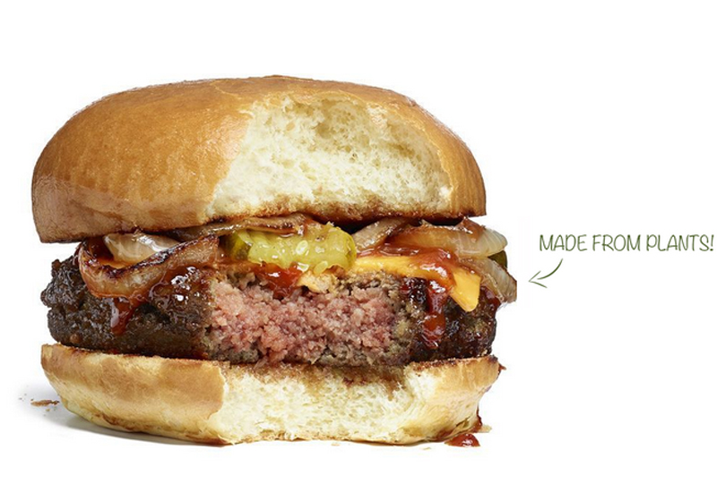 Impossible Foods burger