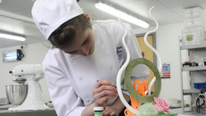 Cornwall College St Austell pastry kitchen