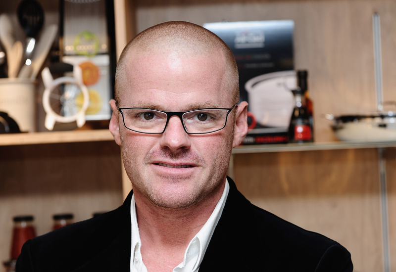 LONDON, ENGLAND - NOVEMBER 02:  Heston Blumenthal attends the launch of Waitrose's First cookery School at Finchley Road on November 2, 2010 in London, England.  (Photo by Ian Gavan/Getty Images for Waitrose) *** Local Caption *** Heston Blumenthal