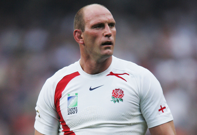 LENS, FRANCE - SEPTEMBER 08: Lawrence Dallaglio of England looks on during the Rugby World Cup 2007 match between England and the USA at the Stade Felix Bollaert on September 8, 2007 in Lens, France.  (Photo by David Rogers/Getty Images) *** Local Caption *** Lawrence Dallaglio