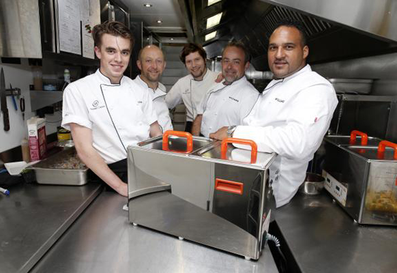 Michael Caines and Williams F1 team