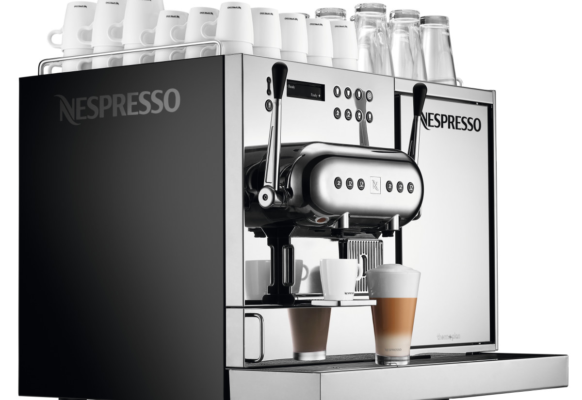 nespresso adds high volume professional barista machine. Black Bedroom Furniture Sets. Home Design Ideas