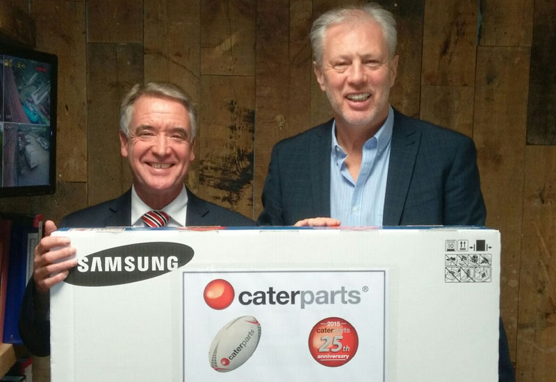 Caterparts and Cater Care Rugby World Cup competition winner