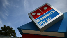 SAN FRANCISCO, CA - MAY 01:  A sign is posted outside of a Domino's Pizza restaurant on May 1, 2014 in San Francisco, California.  Domino's Pizza Inc. reported an 18 percent surge in first quarter income with earnings of $40.5 million, or 71 cents per share, compared to $34.4 million, or 59 cents per share, one year ago. (Photo by Justin Sullivan/Getty Images)