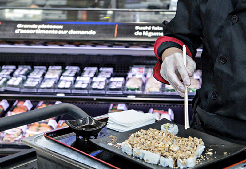 Waitrose Becomes First Uk Supermarket With Sushi Counter
