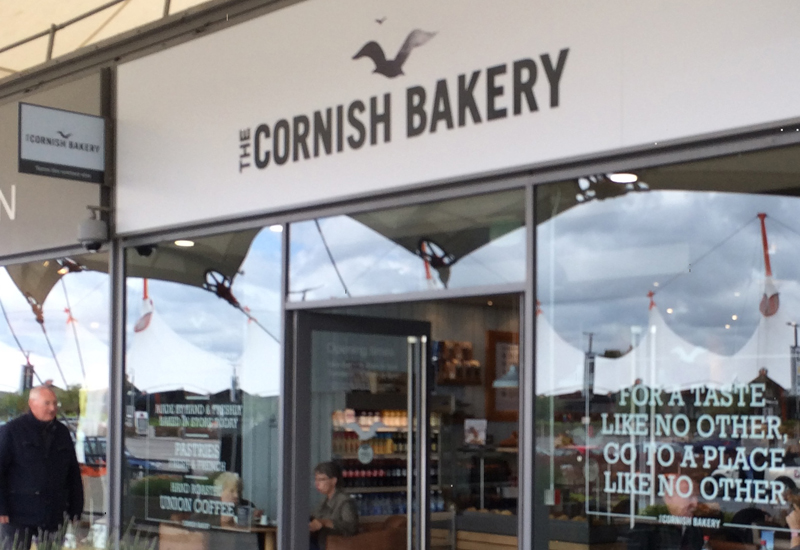 A Cornish Bakery shopfront