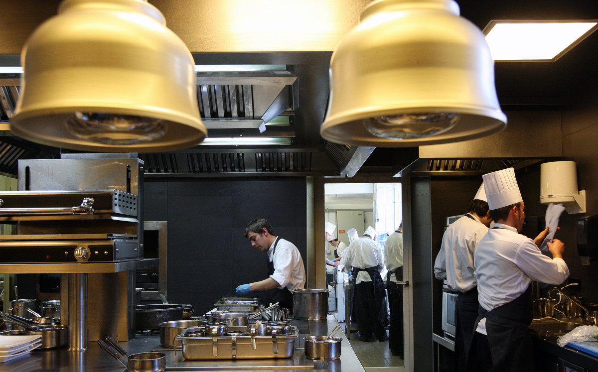 Roca kitchen, Spain