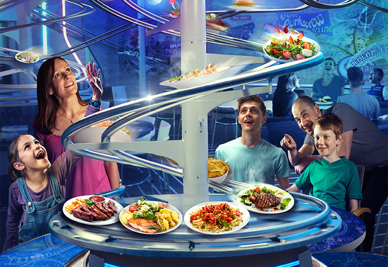Alton Towers Rollercoaster Restaurant 1