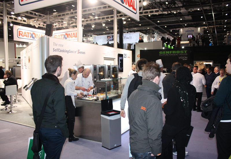 Rational stand, Hotelympia