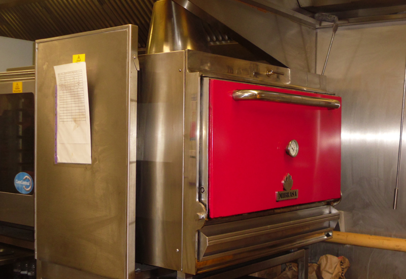 Mibrasa oven at Tex Ann, Harrow