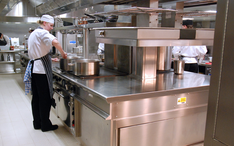 Refurbisment of kitchens/servery's at Cafe Royal, London