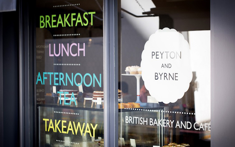 peyton and byrne greenwich modern british bakery