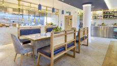 Carluccio's chef's table