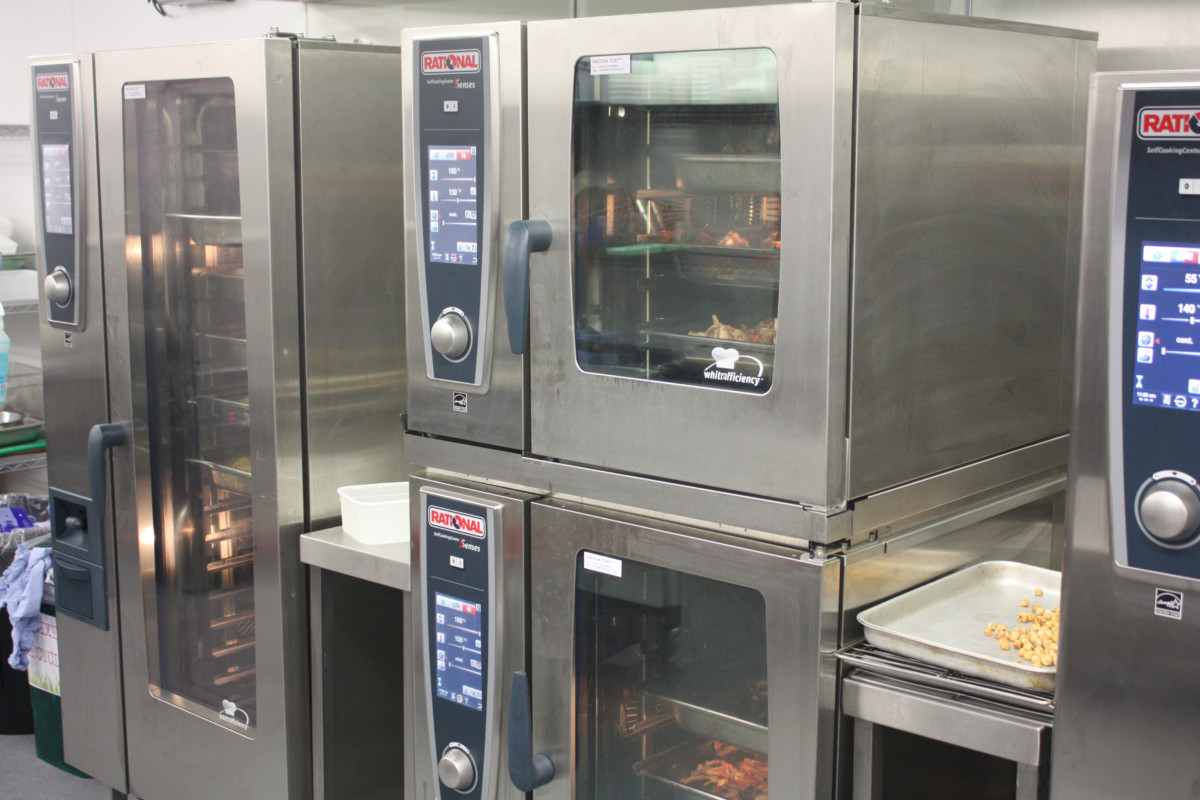 Grazing kitchen Rational combi ovens