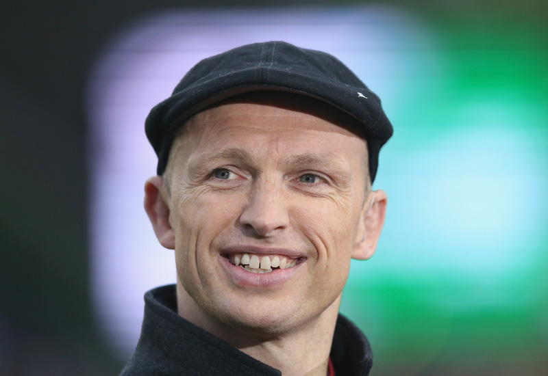 LONDON, ENGLAND - MAY 08:  Matt Dawson, the former England international, now BT Sport rugby pundit looks on during the Aviva Premiership match between Harlequins and Bath at the Twickenham Stoop on May 8, 2015 in London, England.  (Photo by David Rogers/Getty Images)