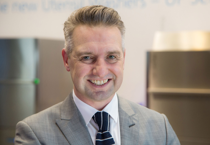 Paul Crowley, marketing manager