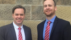 Scott Hayward, regional sales manager for north east England & Paul Burrows, regional sales manager, Scotland