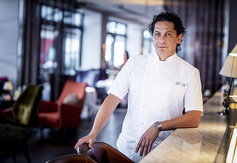 Francesco Mazzei, chef patron