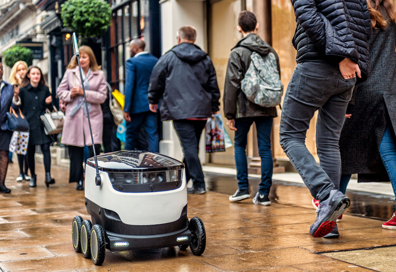 Starship Technologies food delivery robot 1