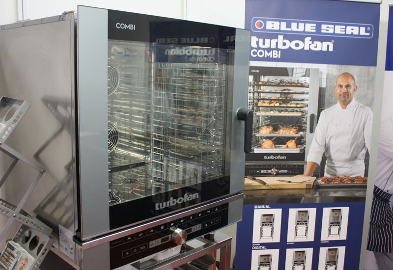 Blue Seal Turbofan combi oven