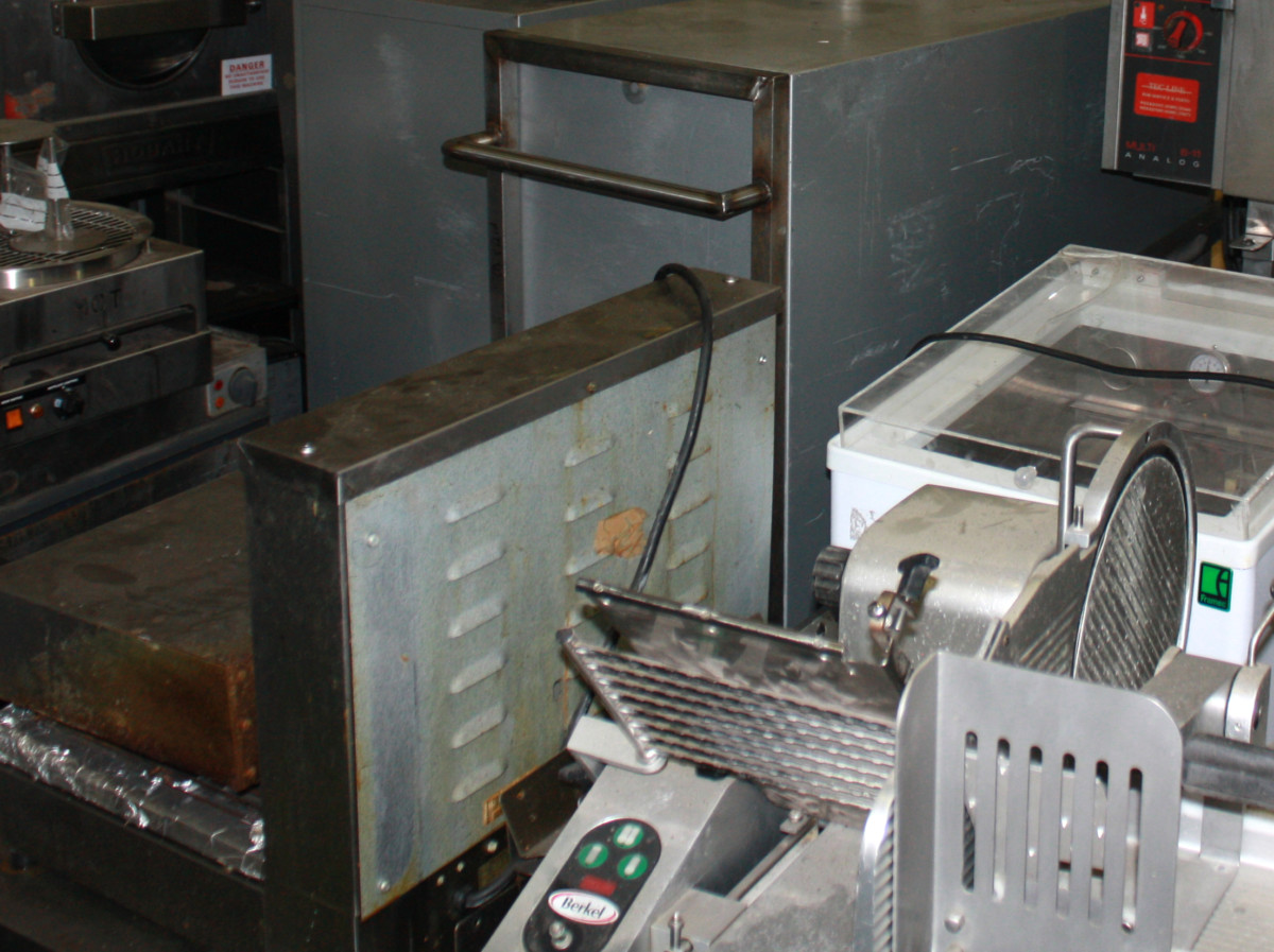 Refurbished catering equipment