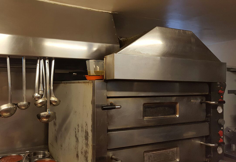34-year-old Cuppone oven