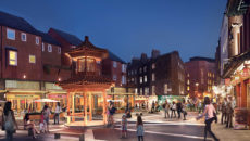 Shaftesbury Central Cross, Chinatown, CGI