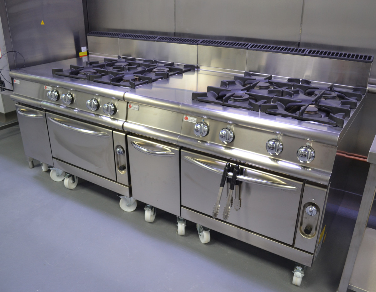 Baron equipment at The Professional Nursery Kitchen
