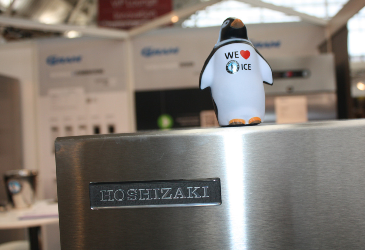 Hoshizaki stand at Casual Dining Show 2017