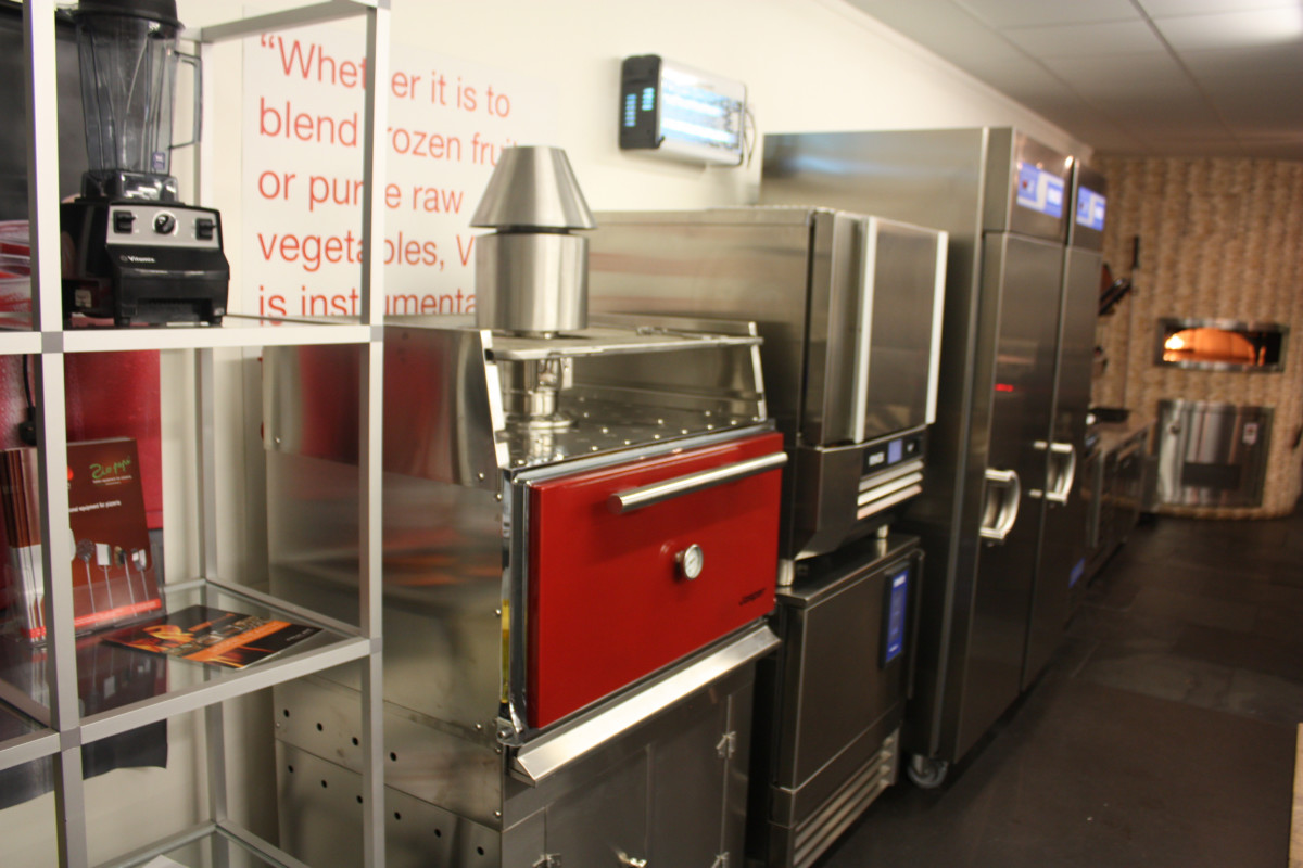 Jestic's huge test kitchen is divided into dedicated areas, including foodservice