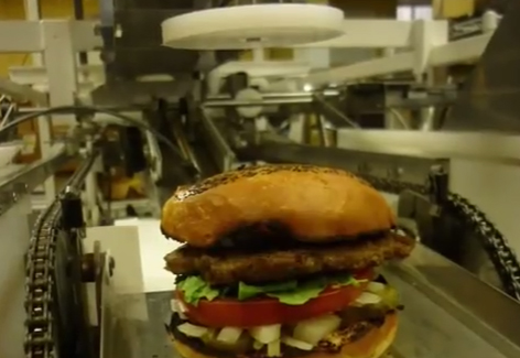 Momentum Machines burger robot