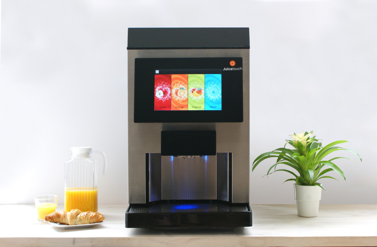JuiceTouch juice dispenser
