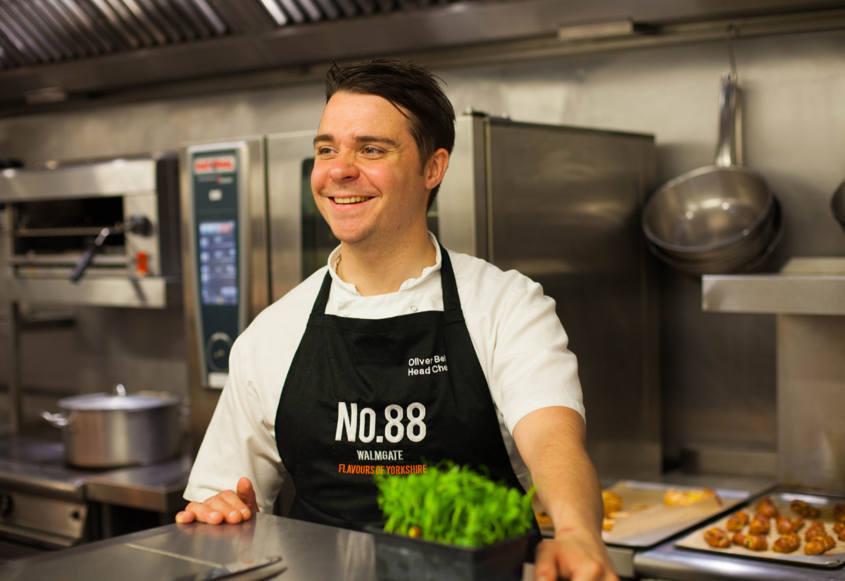 Oliver Bell, head chef, Indigo Hotels York