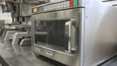 Panasonic microwave at Westminster Kingsway College 1