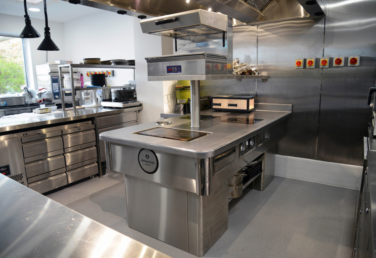 Athanor suite at Raby Hunt Inn & Restaurant