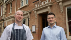 Conor McKinney, head chef, and general manager Eamonn Borg-Neal, The Akeman Tring