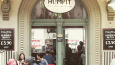 vegan hummus pita