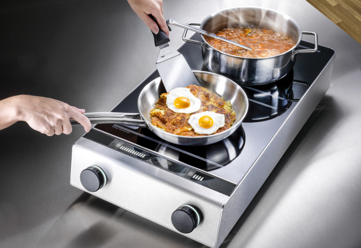 Garland Instinct dual induction hob