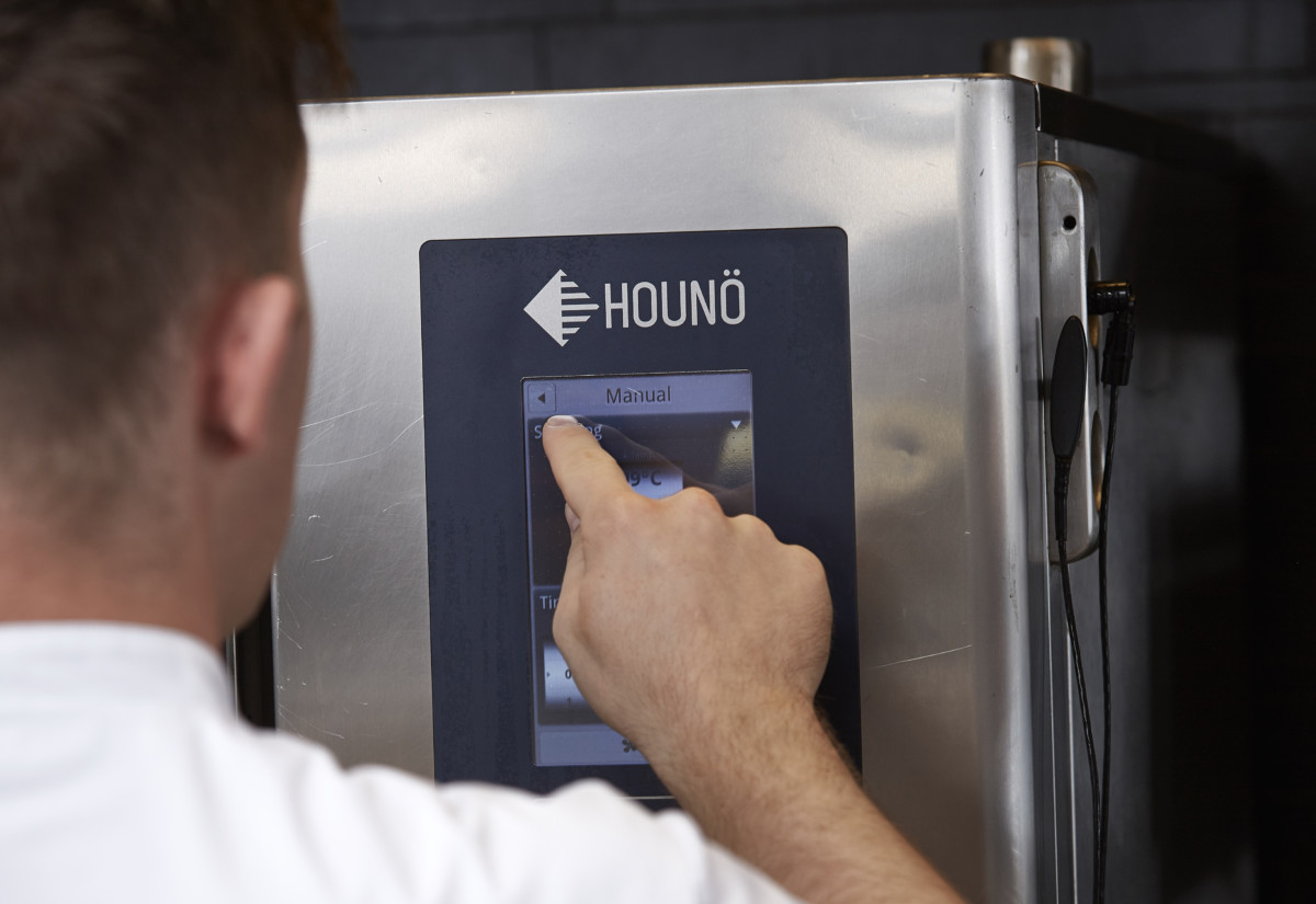 Houno Let's Cook Cloud combi oven
