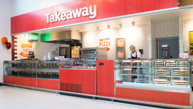 Sainsbury's takeaway pizza