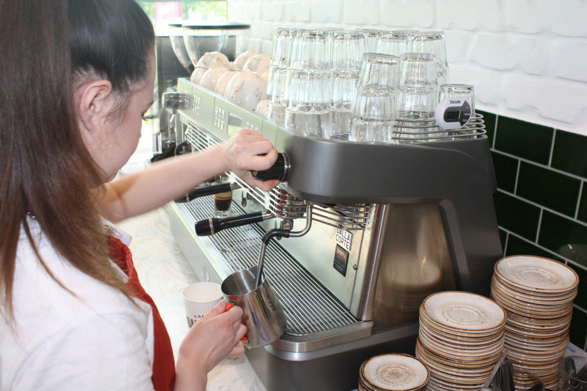 Caffe Dallucci coffee machine
