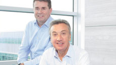 Adam Elliot, CEO, Concerto Group (left) and Bill Toner, CEO, CH&Co Group